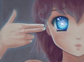 Broken Window to the Soul by DestinyBlue