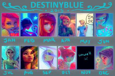 Blue Drew in 2015... by DestinyBlue