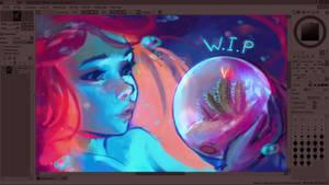Glass Bowl - WIP by DestinyBlue