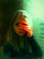 Scared of the Light (speedpaint) by DestinyBlue