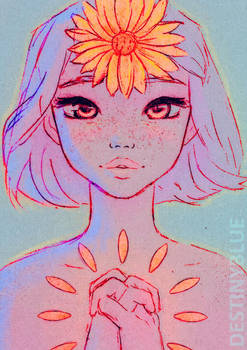 Head and Heart - Limited Print by DestinyBlue