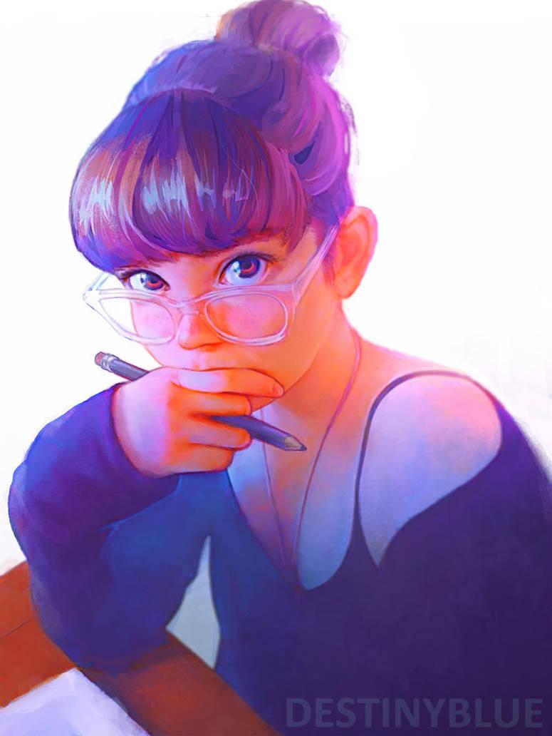 Procrastination by DestinyBlue