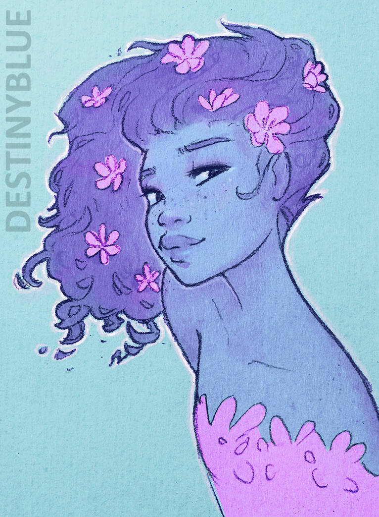 Blossoming - Limited Print by DestinyBlue