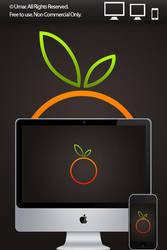 Orange by 365art