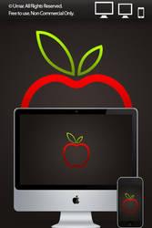 Apple by umar123 by 365art