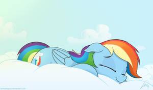 Comfy pony by SarmaTeppou