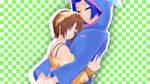 Fluffy hugs by maydayfireball