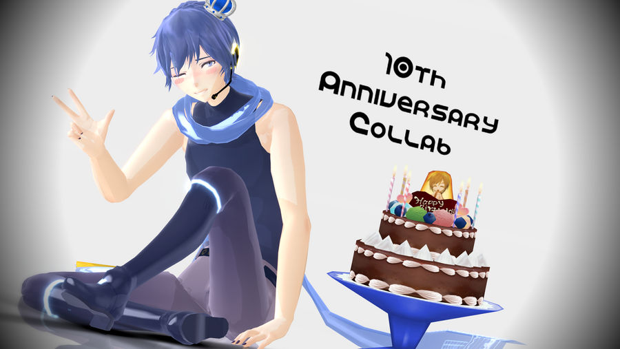 Kaito 10th Anniversary Collab ! [Now Closed] by maydayfireball