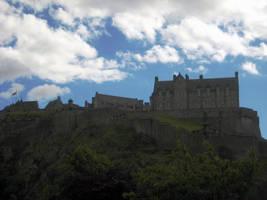 Edinburgh Castle by simfonic