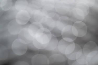 Light Grey Bokeh by simfonic