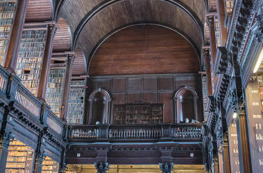 Upper Level Library by simfonic