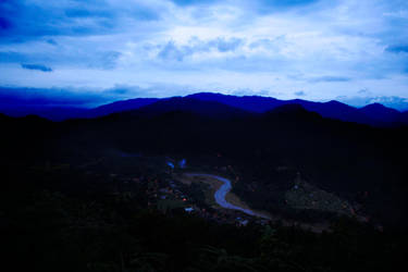 Mountain range by hirayama285002