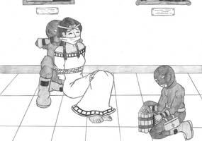 Ishizu Kidnapped by Aramirn123