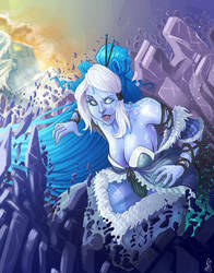 Inada Amai, The Frozen Queen by oGuttermoutho