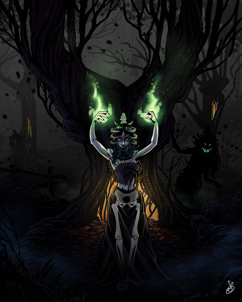 Sereana Amai, Queen of Nightmares by oGuttermoutho