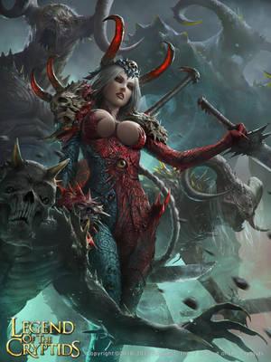 Byrdy, Confidant of Satan by ZeenChin