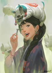 Witch Pet by ZeenChin