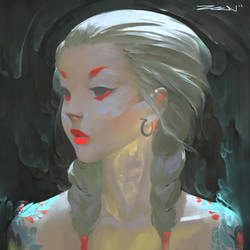 Portrait Practice~ by ZeenChin