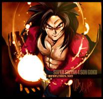 SSJ4 Son Goku by Sabnock