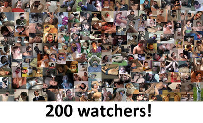 200 watchers! by kevinjeopardy
