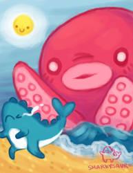 Sharkysaur's Nightmare by Sharkysaur