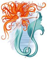 Siren in colour by iizzard