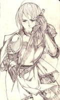 Helpless knight by Minochi