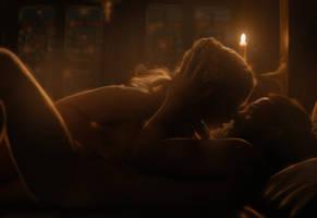 Jon Snow and Daenerys Targaryen by Aloha512