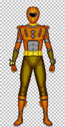Orange of Supido Sentai Flashman by ShotgunDA