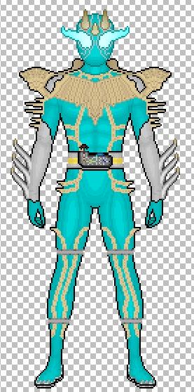 Kamen Rider Kyoryu by ShotgunDA