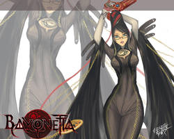 BAYONETTA wallpaper by edenfox