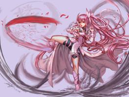 Yuki Yuna by edenfox