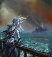 The Fall of Imrryr. by merriya