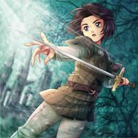 Arya Stark by runawaywithyou