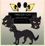 Tangledthorn | REF SHEET COMMISSION by nightmflight