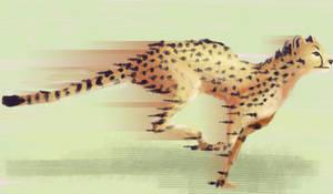 Cheetah Speedpaint by TheDonQuixotic