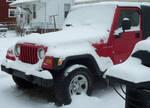 Snowy Jeep by furocious-studios