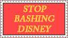 Stop Bashing Disney stamp by tuxedomartyamvhub