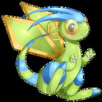 Shiny Flygon: DMAP by beanbunn