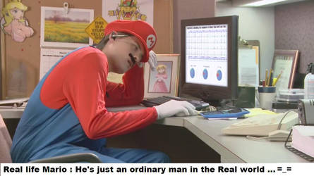 Mario's Office by Division90