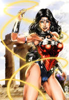 Wonder Woman by Marcio Abreu by Miclix0458