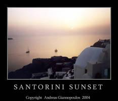 Santorini Sunset by Snapshooter