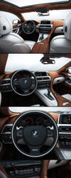 BMW 6 Gran Coupe Interior by MUCK-ONE