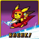 Pikachu Rogue by GreyDirect