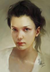 girl portrait by crow-god