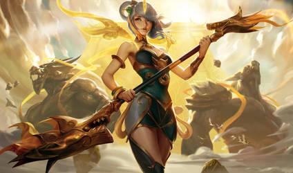 Lunar Empress Lux by crow-god