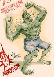 Hulk Sketch by jusscope