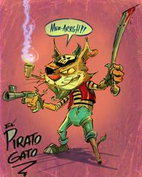 Gato Pirato by jusscope