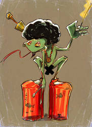 Snoop Froggy Frogg by jusscope
