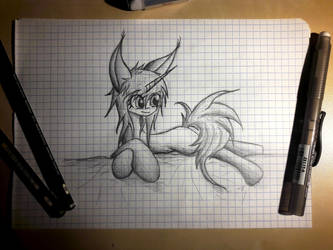 Sketchy Sketch by Ap0st0l